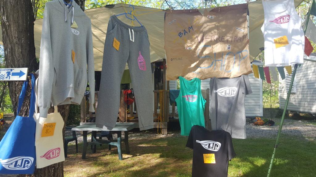 Fairtrade Shop Merchandise Werrepiraten Kajak